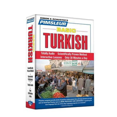 Pimsleur Turkish Basic Course - Level 1 Lessons 1-10 by Paul Pimsleur audiobook