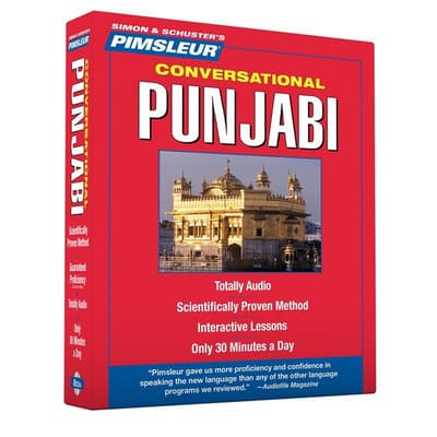 Pimsleur Punjabi Conversational Course - Level 1 Lessons 1-16 by Paul Pimsleur audiobook