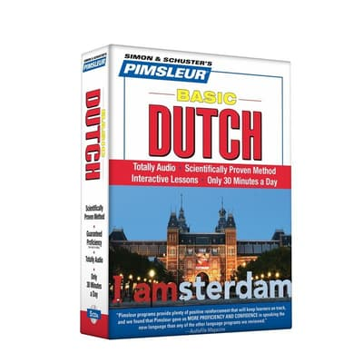 Pimsleur Dutch Basic Course - Level 1 Lessons 1-10 by Paul Pimsleur audiobook