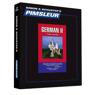 Pimsleur German Level 2 by Paul Pimsleur audiobook