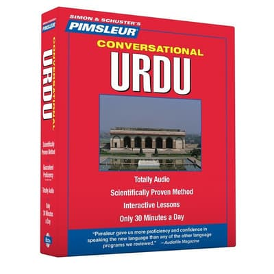 Pimsleur Urdu Conversational Course - Level 1 Lessons 1-16 by Paul Pimsleur audiobook