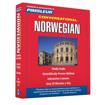 Pimsleur Norwegian Conversational Course - Level 1 Lessons 1-16 by Paul Pimsleur audiobook
