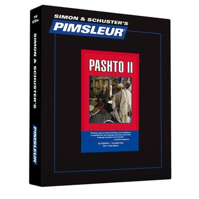 Pimsleur Pashto Level 2 by Paul Pimsleur audiobook