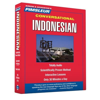 Pimsleur Indonesian Conversational Course - Level 1 Lessons 1-16 by Paul Pimsleur audiobook