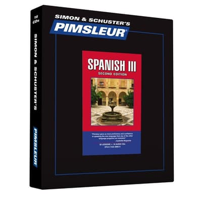 Pimsleur Spanish Level 3 by Paul Pimsleur audiobook