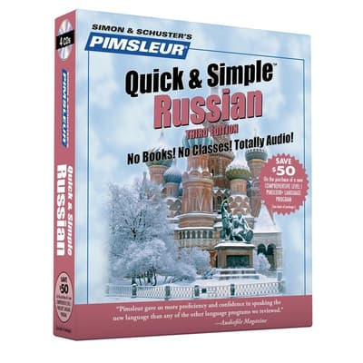 Pimsleur Russian Quick & Simple Course - Level 1 Lessons 1-8 by Paul Pimsleur audiobook
