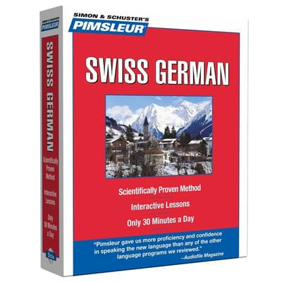 Pimsleur Swiss German Level 1 by Paul Pimsleur audiobook