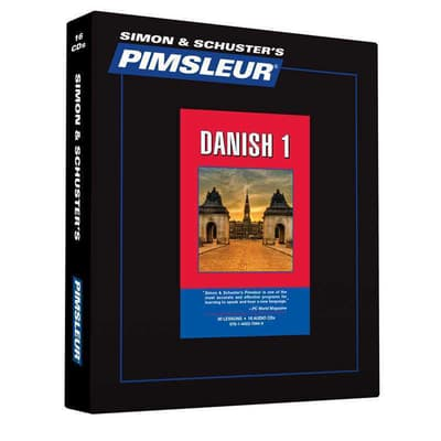 Pimsleur Danish Level 1 by Paul Pimsleur audiobook