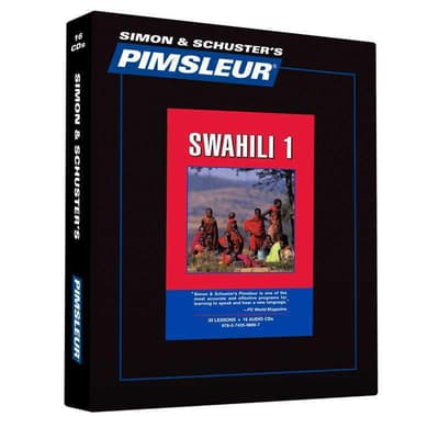 Pimsleur Swahili Level 1 by Paul Pimsleur audiobook