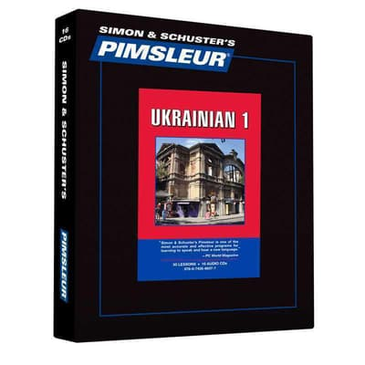 Pimsleur Ukrainian Level 1 by Paul Pimsleur audiobook