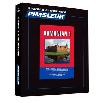 Pimsleur Romanian Level 1 by Paul Pimsleur audiobook