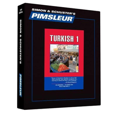 Pimsleur Turkish Level 1 by Paul Pimsleur audiobook