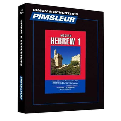 Pimsleur Hebrew Level 1 by Paul Pimsleur audiobook