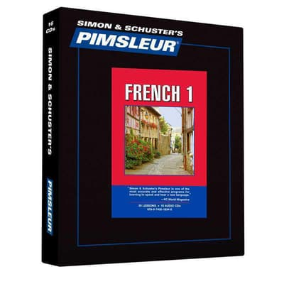 Pimsleur French Level 1 by Paul Pimsleur audiobook