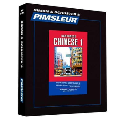 Pimsleur Chinese (Cantonese) Level 1 by Paul Pimsleur audiobook