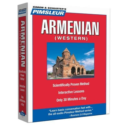 Pimsleur Armenian (Western) Level 1 by Paul Pimsleur audiobook