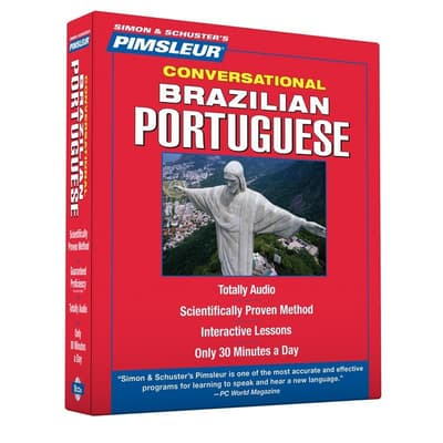 Pimsleur Portuguese (Brazilian) Conversational Course - Level 1 Lessons 1-16 by Paul Pimsleur audiobook