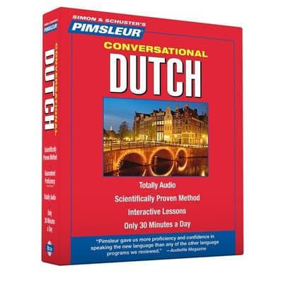 Pimsleur Dutch Conversational Course - Level 1 Lessons 1-16 by Paul Pimsleur audiobook