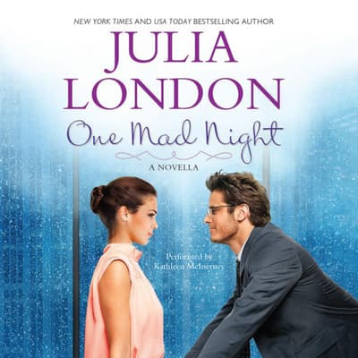One Mad Night by Julia London audiobook