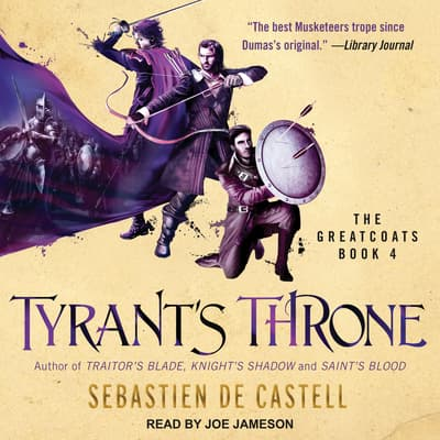 Tyrant's Throne by Sebastien de Castell audiobook