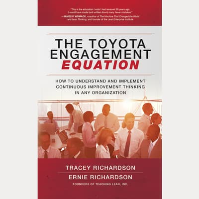 The Toyota Engagement Equation by Tracey Richardson audiobook