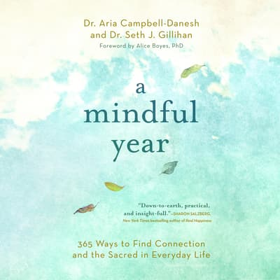 A Mindful Year by Aria Campbell-Danesh audiobook