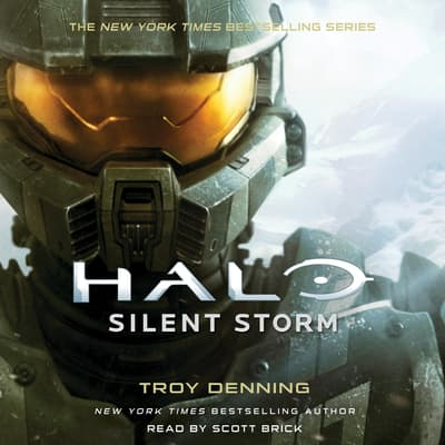 Halo: Silent Storm by Troy Denning audiobook