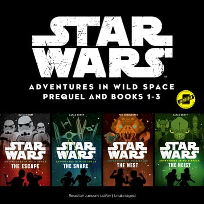 Star Wars Adventures in Wild Space: Books 1–3 by Disney Press audiobook