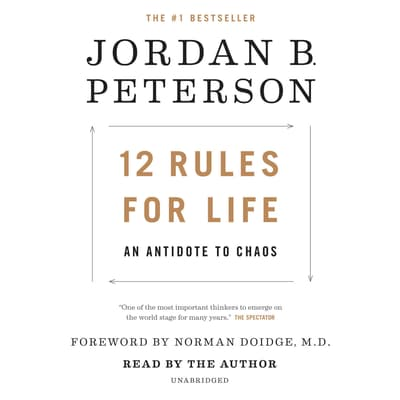 12 Rules for Life by Jordan B. Peterson audiobook