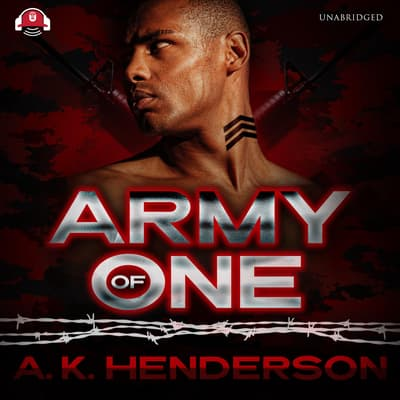Army of One by A. K. Henderson audiobook