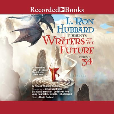 Writers of the Future Volume 34 by Erik Bundy audiobook