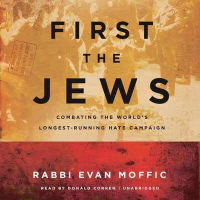 First the Jews by Evan Moffic audiobook