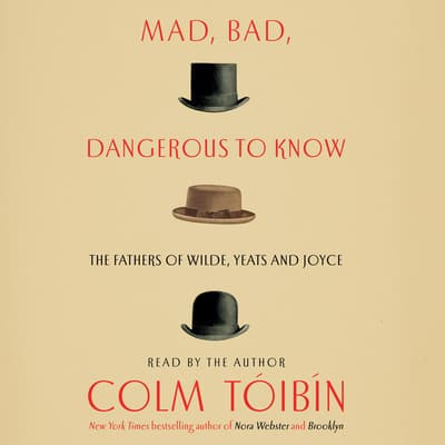 Mad, Bad, Dangerous to Know by Colm Tóibín audiobook