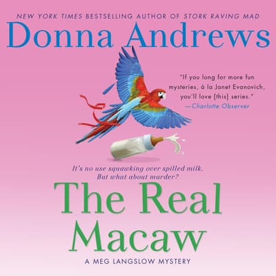 The Real Macaw by Donna Andrews audiobook
