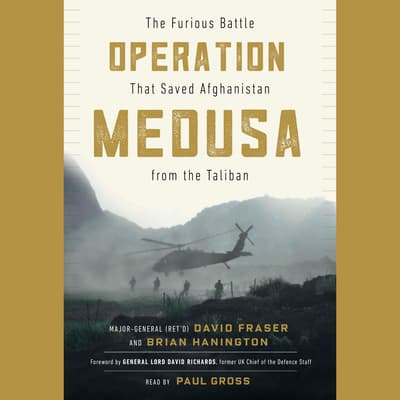 Operation Medusa by Major General David Fraser audiobook