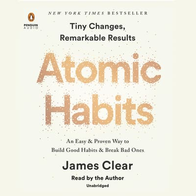Atomic Habits by James Clear audiobook