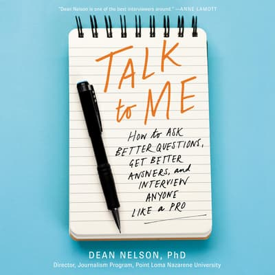 Talk to Me by Dean Nelson audiobook