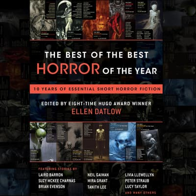 The Best of the Best Horror of the Year by Ellen Datlow audiobook