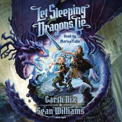 Let Sleeping Dragons Lie by Garth Nix audiobook