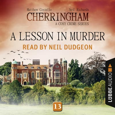 A Lesson in Murder by Matthew Costello audiobook