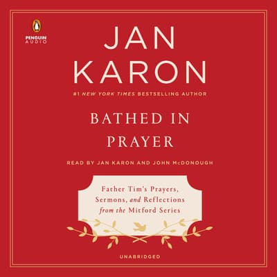 Bathed in Prayer by Jan Karon audiobook