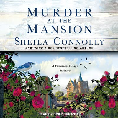 Murder at the Mansion by Sheila Connolly audiobook