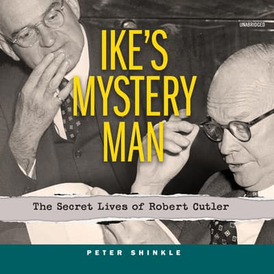 Ike's Mystery Man by Peter Shinkle audiobook