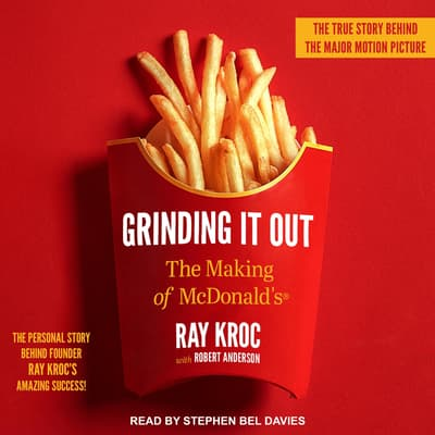 Grinding It Out by Ray Kroc audiobook