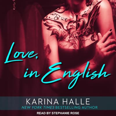 Love, in English by Karina Halle audiobook
