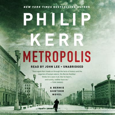Metropolis by Philip Kerr audiobook