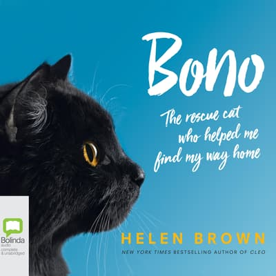 Bono: The Rescue Cat Who Helped Me Find My Way Home by Helen Brown audiobook