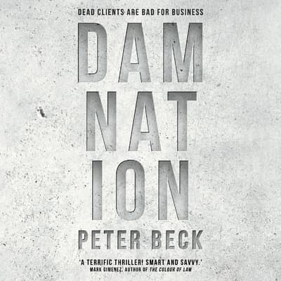 Damnation by Peter Beck audiobook