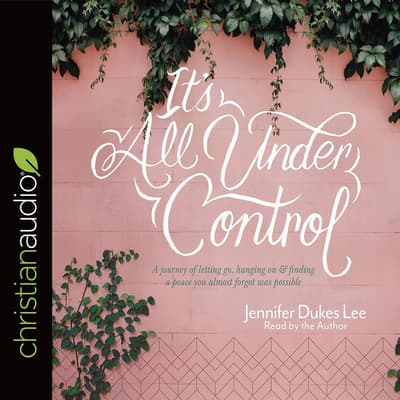 It's All Under Control by Jennifer Dukes Lee audiobook