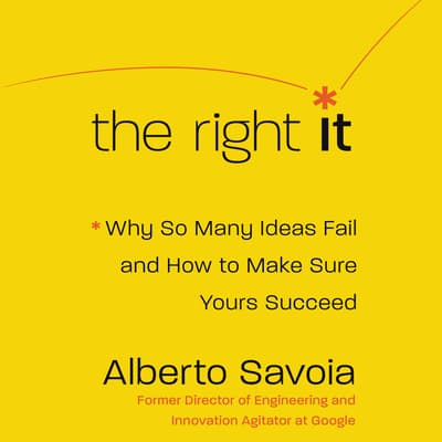 The Right It by Alberto Savoia audiobook